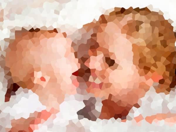 a visão do bebê 1 mês